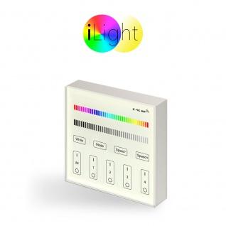 s.LUCE iLight Touch Panel für LED-Leuchtmittel RGBW / Schalter / Fernbedienung