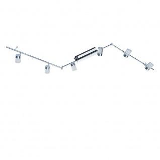 Wofi Maar LED Deckenbalken 6-flammig Chrom Strahler Spots