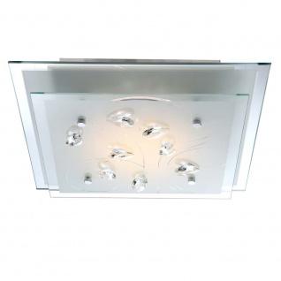 Licht-Trend Aquila / LED-Deckenleuchte Metall / 1400 Lumen / Chrom / Deckenlampe