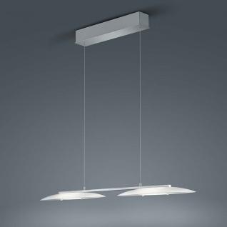 Helestra LED Pendelleuchte Sally Nickel-Matt Chrom
