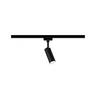 URail LED-Spot Tubo 5W Schwarz Matt 3000K Metall/Kunststoff