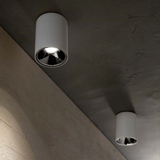 Ideal Lux LED Deckenleuchte Nitro 10W Rund Weiß 205991