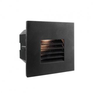 Abdeckung Gitter Schwarz für LED-Einbauleuchte Steps Outdoor