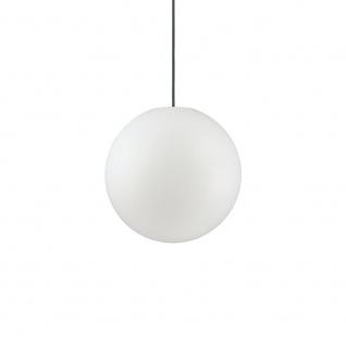 Ideal Lux 135991 Sole Aussenleuchte Hängekugel Ø 30cm Weiß Gartenkugel