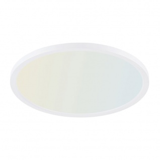 Q-Flat Ø45cm LED Deckenleuchte 2700 - 5000K Weiss - Vorschau 1