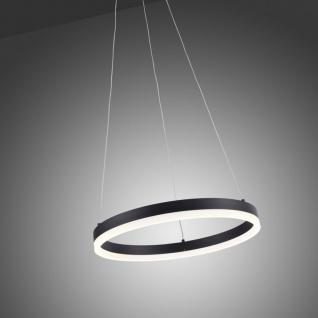 Licht-Trend Ring S LED-Hängeleuchte dimmbar über Schalter Ø 40cm Anthrazit Ringleuchte