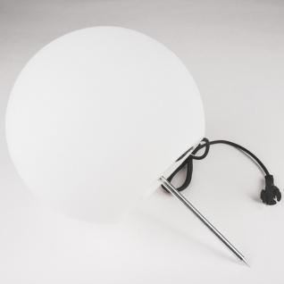 Licht-Trend Bolla XL Garten Aussenkugel Ø 60 cm / Weiss Kugellampe Gartenkugel - Vorschau 5