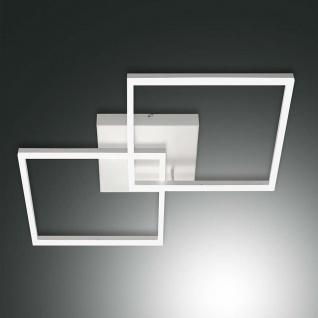Fabas Luce LED Deckenleuchte Bard 5400lm Weiß