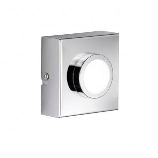 Wofi Veneta LED Wandleuchte 1-flammig Chrom 487101010000