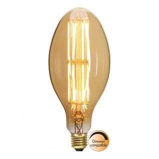 E27 Vintage Retro LED 10cm Kerze Dimmbar 400lm Extra Warmweiß