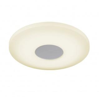 Wofi Dimmbare LED Deckenleuchte VIEW mit Fernbedienung 2000lm Weiss 906601065340 - Vorschau 2