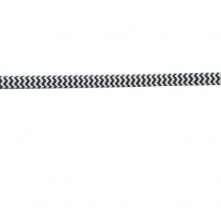 Textilkabel schwarz-weiss 2 x 0, 75mm 1 Meter Zubehör