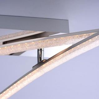 LeuchtenDirekt 11290-17 Simon LED Acryl Deckenleuchte 2x 5W 3000K Chrom - Vorschau 3