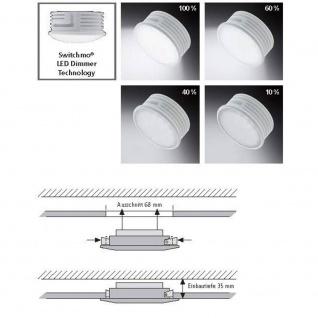 Paul Neuhaus 7594-17 Lumeco LED Einbauleuchte 5, 50W 3000K IP44 Chrom - Vorschau 3