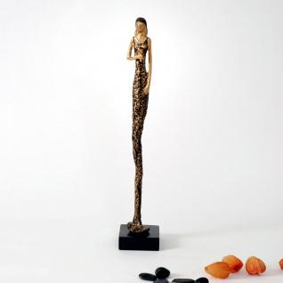 Holländer 419 3522 Figur Esplosivita Due Aluminium-Holz Gold-Schwarz