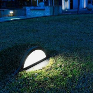 Panzeri LAMPyris LED Aussen Bodenleuchte 500lm Braun Designer Gartenleuchte