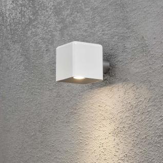 Konstsmide 7681-200 Amalfi LED Aussen-Wandleuchte inkl. Trafo 12V Weiß