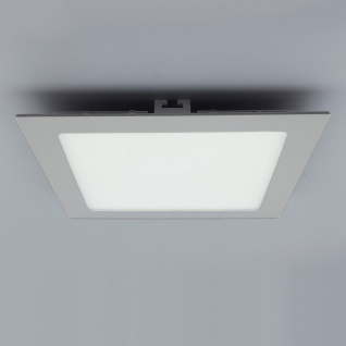 Licht-Design 30831 Einbau LED-Panel 2140lm Dimmbar 30x30cm Warm Silber