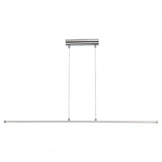 LED-Hängeleuchte aus Aluminium 12 W 114cm Chrom Hängelampe
