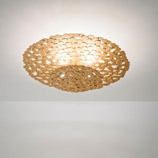 Terzani Tresor Deckenleuchte Gold Deckenlampe