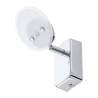 Eglo 94166 Ervas LED Spot 1 x 33 W Stahl Chrom Glas satiniert Weiss klar
