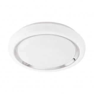 LED Wand- & Deckenleuchte Capasso-C Weiß/Chrom