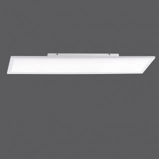 LeuchtenDirekt LED Deckenleuchte LS-Flat 100x25cm RGB+CCT Weiß