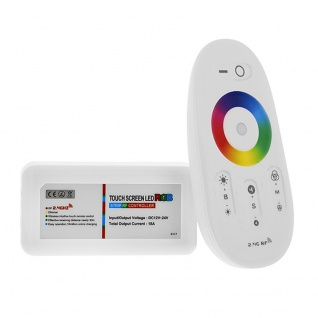 RGB Funkcontroller mit Fernbedienung 12V-24V bis 24A