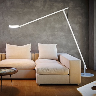 Rotaliana 1SRXL 002 63 EL0 String XL LED-Stehleuchte mit Dimmer Stehlampe Weiss