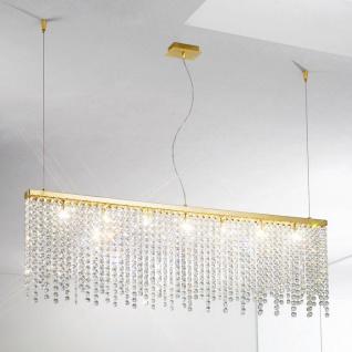Kolarz Prisma Stretta Kronleuchter Gold 7-flammig Pendellampe