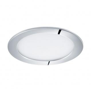 Eglo 96056 Fueva 1 LED Einbaustrahler Ø 17cm 1350lm Chrom