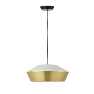 s.LUCE LED Hängelampe SkaDa Ø 40cm in Weiss Gold Esstischleuchte Esszimmerlampe - Vorschau 4