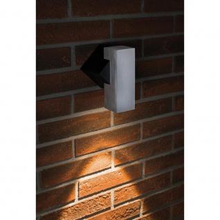 Paulmann Special ABL Set 1Flame eckig IP44 LED 1x1W Schwarz Alu-Gebürstet 93795