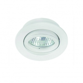 s.LUCE True Einbaustrahler schwenkbar Einbauleuchte Einbaulampe Weiss-matt