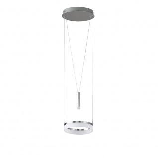 Wofi 6263.02.54.6250 LED Pendelleuchte Jette 860 + 60lm Nickel-Matt Chrom