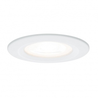 Paulmann 927.13 3er Set Einbauleuchten LED 3x8W GU10 Dimmbar weiß EBL IP23
