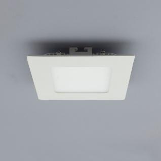 Licht-Design 30385 Einbau LED-Panel 480lm Dimmbar 12x12cm Warm Weiss