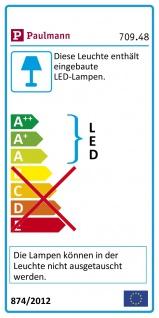 Paulmann Wandleuchte Agena IP44 LED dimmbar 1x20W Chrom Weiß-Matt Alu Edelstahl 70948 - Vorschau 3
