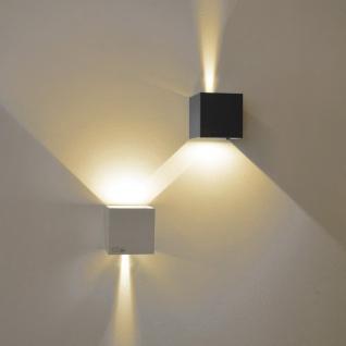 s.LUCE pro Ixa LED Wandleuchte + verstellbare Winkel Wandlampe weiss - Vorschau 5