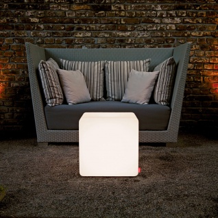Moree Outdoor Sitzwürfel Cube mit Farbwechsel