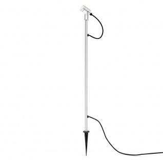 Konstsmide 7970-000 Monza LED Erdspießleuchte mit schwenkbarem Kopf 12V