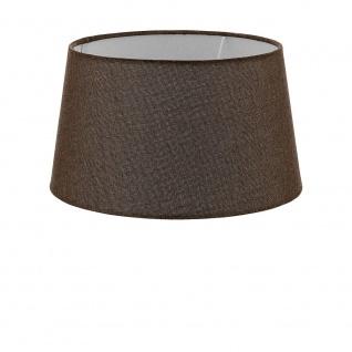 Eglo 49659 1+1 Vintage Lampenschirm Ø 30/25cm Braun