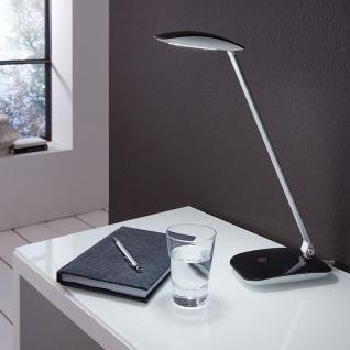 Eglo 95696 Cajero LED Tischleuchte mit Touch und USB 550lm Schwarz