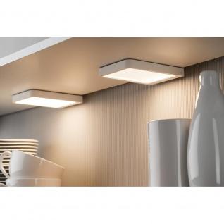 Paulmann Möbel Aufbauleuchte LED Vane eckig inklusive LED-Modul 1x6, 7W 92032