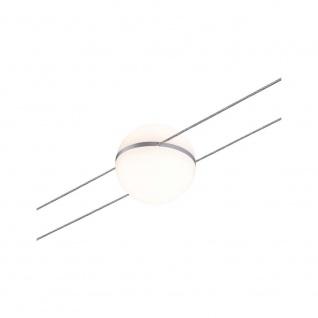 Paulmann 94083 WireSystem 2Line Spot Tom 1x3, 6W Weiß/Chrom 12V DC Kunststoff/Metall