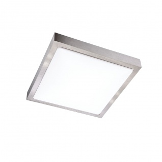 Wofi Mila LED Deckenleuchte Nickel matt Deckenlampe
