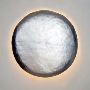 Holländer 466 K 1333 Wandleuchte 4-flammig Disque Extra Large Argento Metall BlattSilber