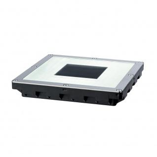 Paulmann LED Solar Bodeneinbauleuchte Cube IP67 Edelstahl 93834