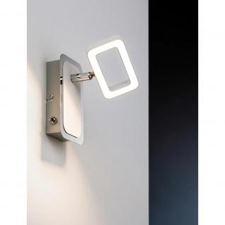 Paulmann Strahler Frame LED 1-flammig Weiß Chrom 1x4, 5W 66638