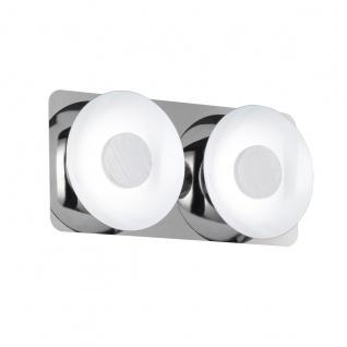 Wofi Space LED Deckenbalken 2-flammig Chrom Deckenlampe